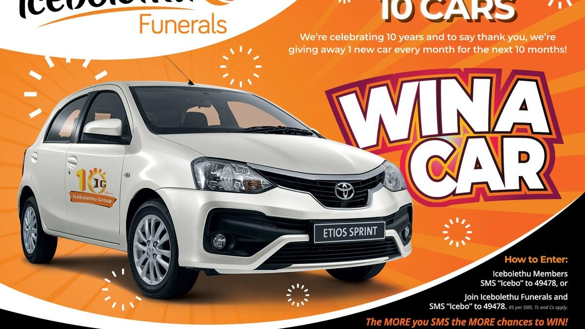 Win A Car: Icebolethu Win A Car Competition!
