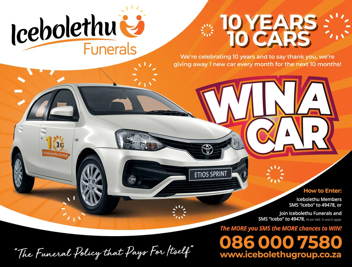 Icebolethu Funerals Win A Car Competition